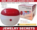 ماشین شستشوی جواهرات